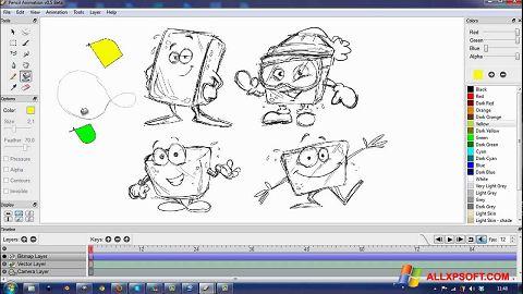 Snimak zaslona Pencil Windows XP