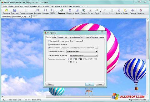 Snimak zaslona FastStone Capture Windows XP