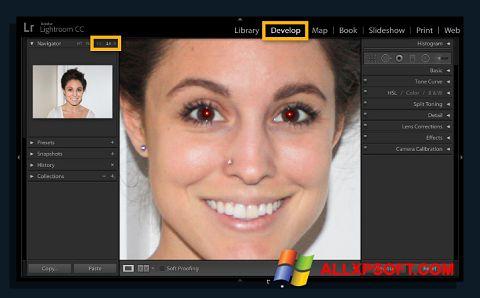Snimak zaslona Red Eye Remover Windows XP